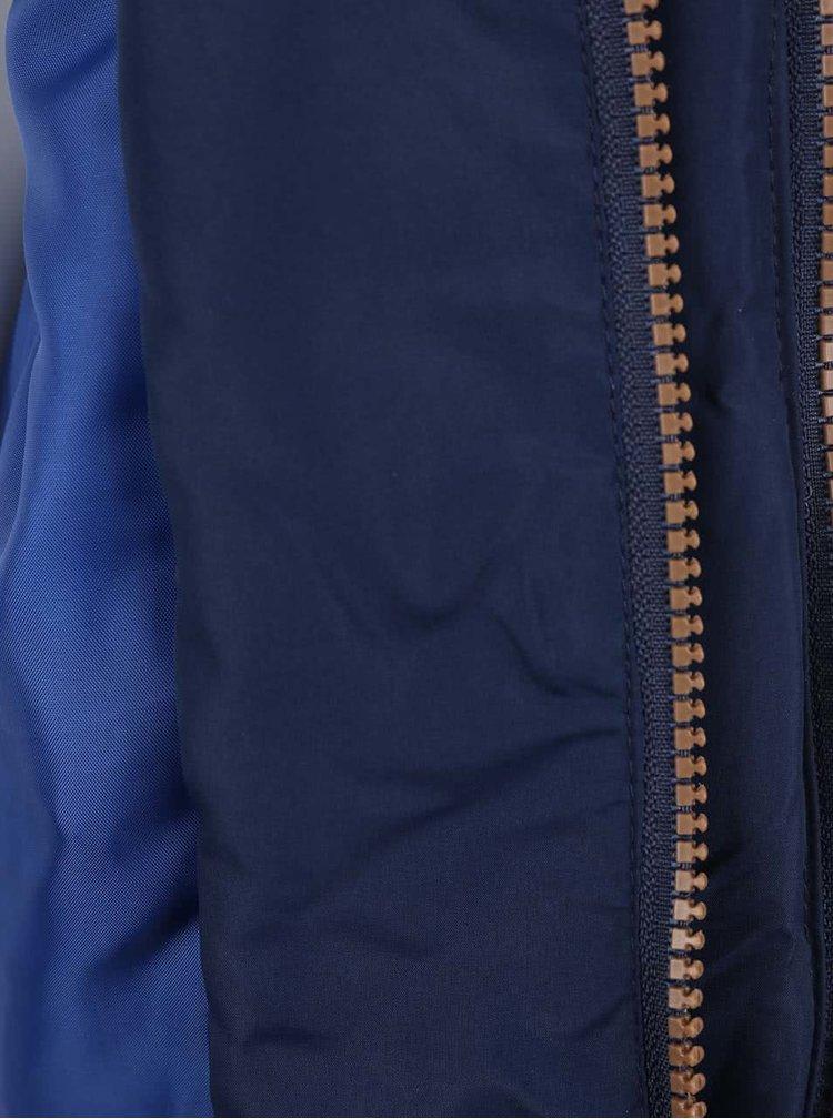 Tmavě modrá klučičí prošívaná bunda s kapucí 5.10.15.