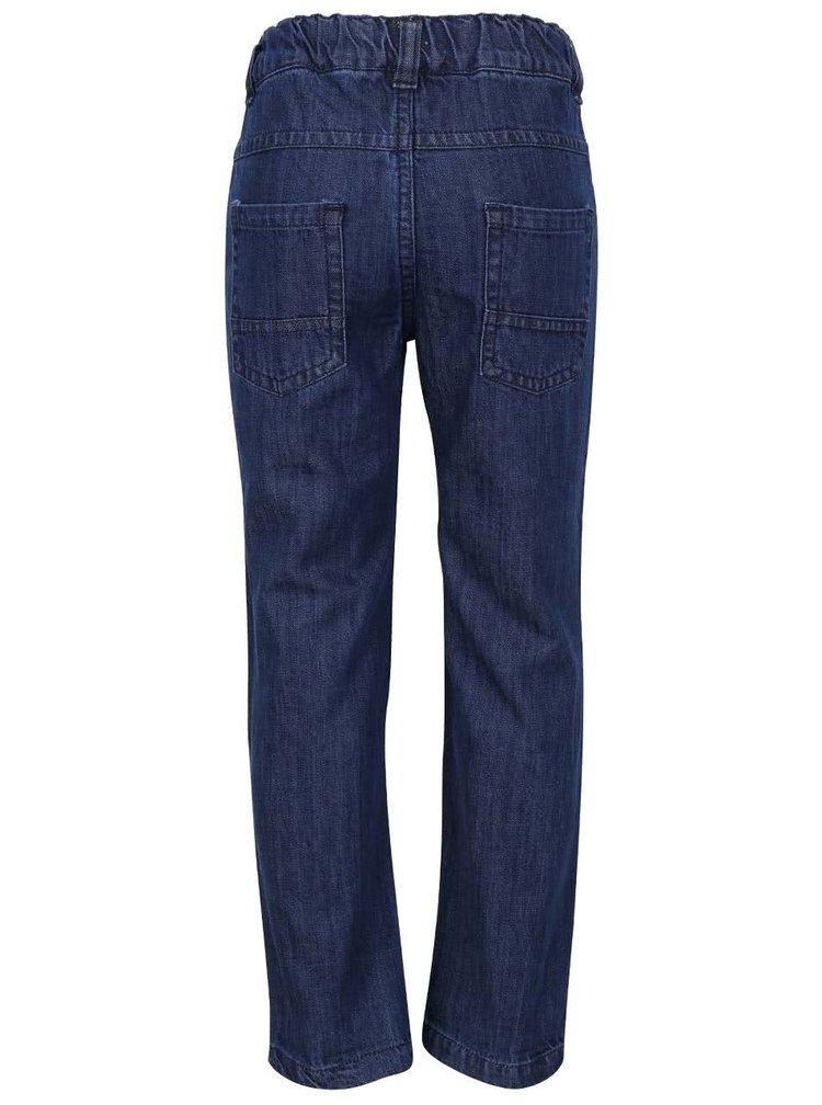 231a99c110bf Modré chlapčenské rifľové nohavice s logom 5.10.15.