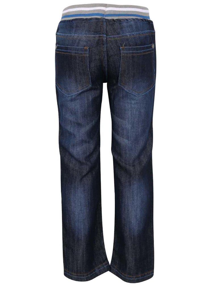 Tmavě modré klučičí denimové kalhoty s gumou 5.10.15.