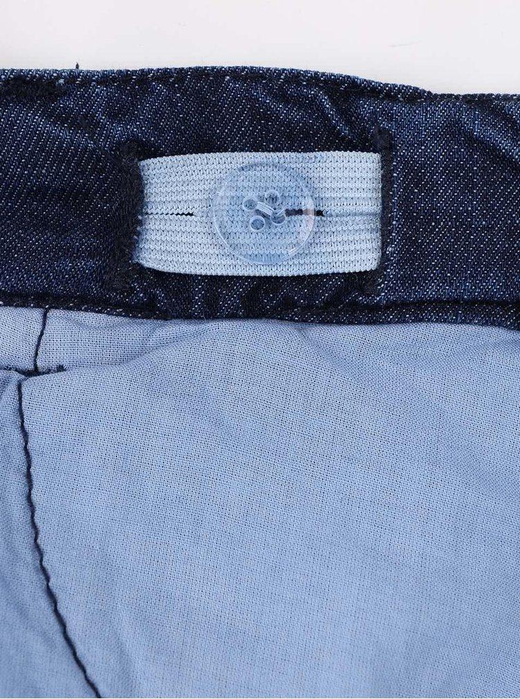 Modré klučičí denimové kalhoty s logem 5.10.15.