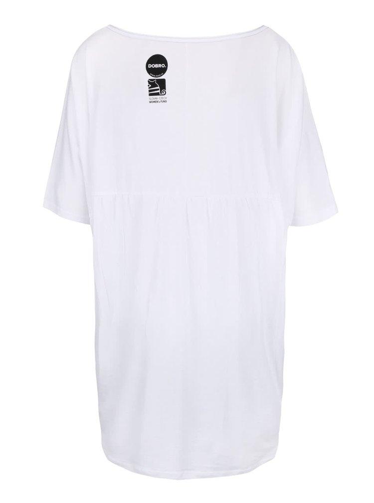 """""""Dobré"""" biele dámske tričko pre Dove"""
