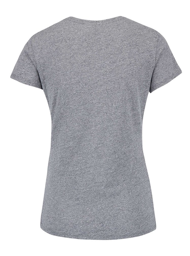 Tricou gri Bench cu imprimeu pentru femei