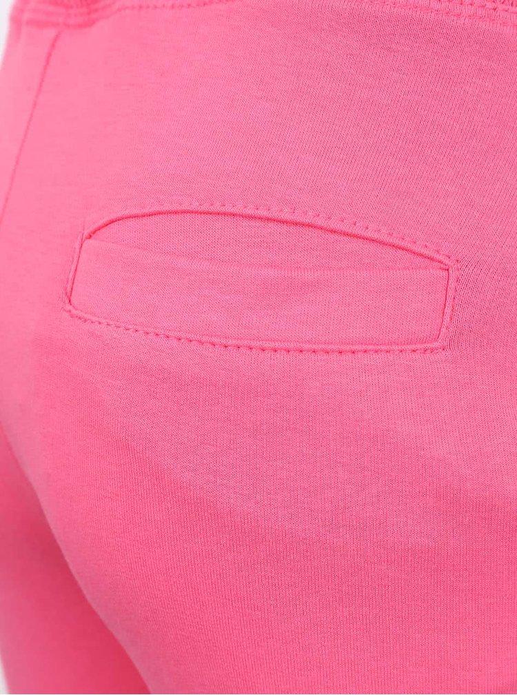 Ružové dievčenské tepláky s motívom 5.10.15.