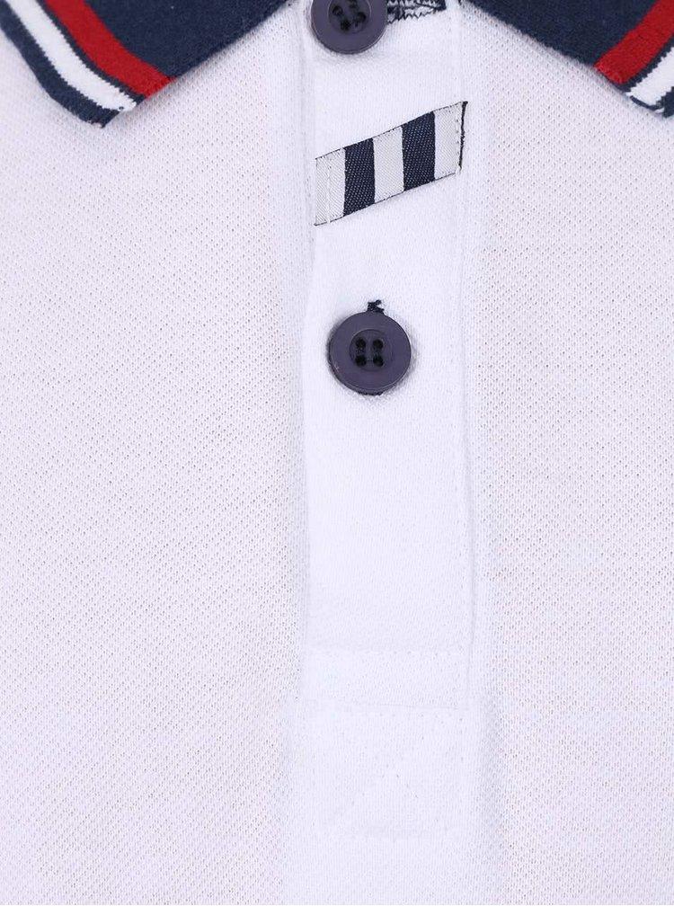 Bílé klučičí polo triko 5.10.15.