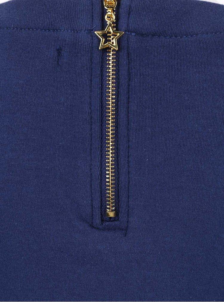 Tmavě modré holčičí šaty 5.10.15.