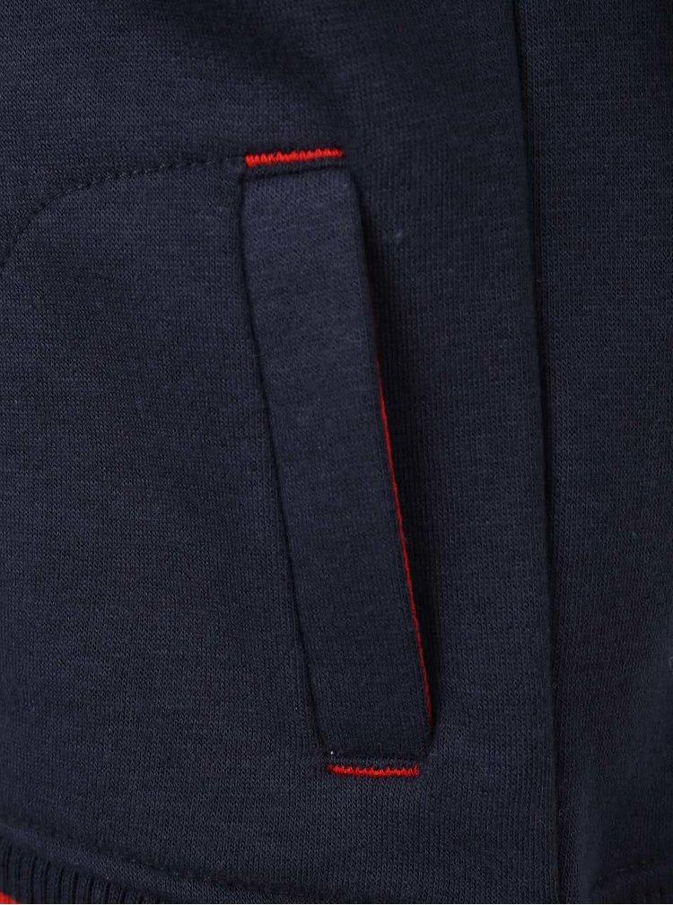 Tmavě modrá klučičí mikina na zip 5.10.15.