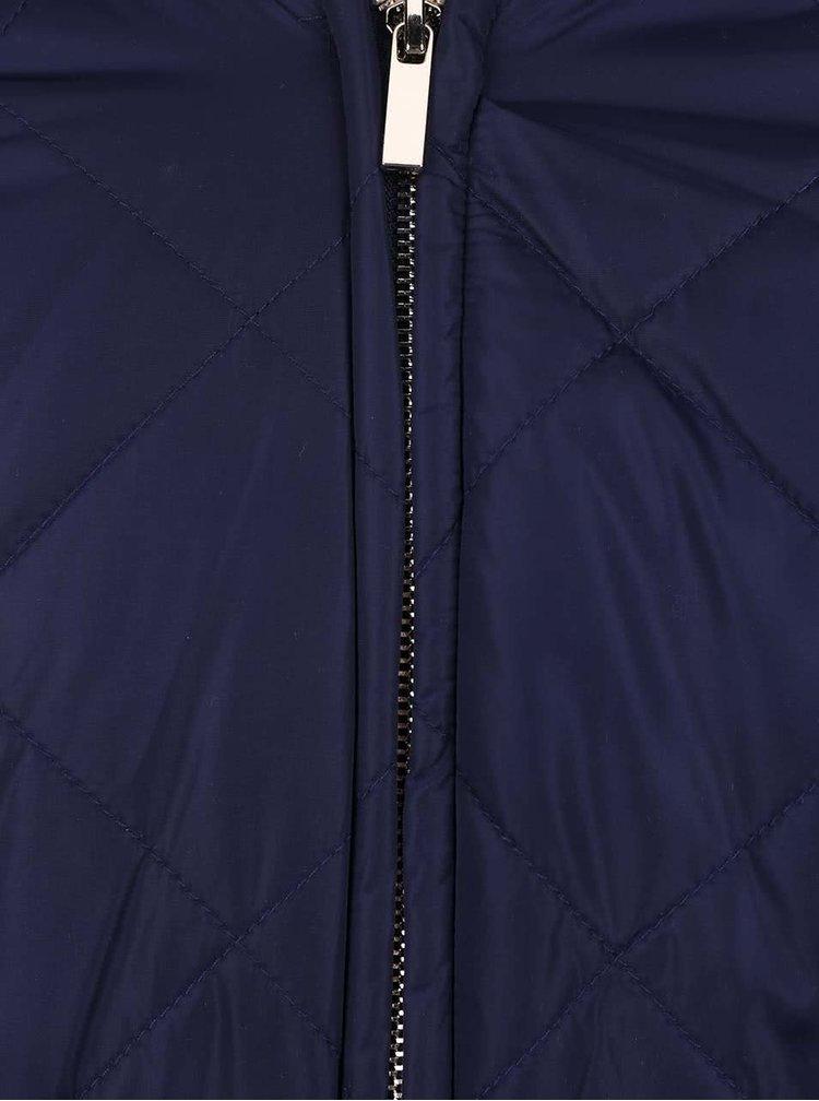 Tmavě modrá holčičí prošívaná bunda 5.10.15.