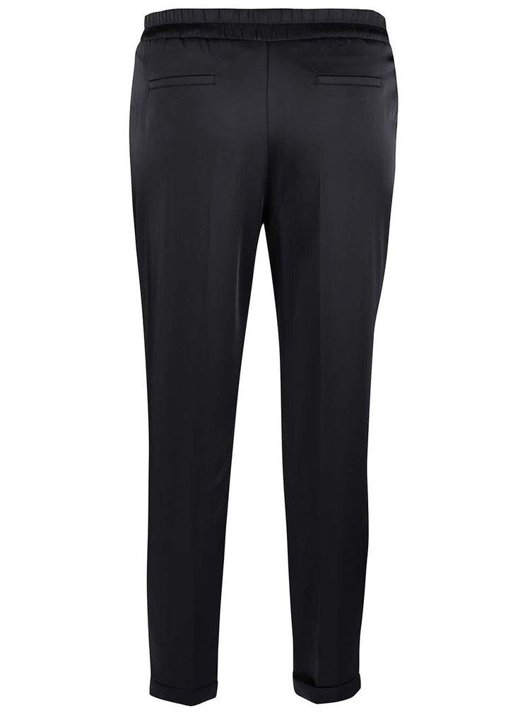 Černé volné kalhoty Dorothy Perkins