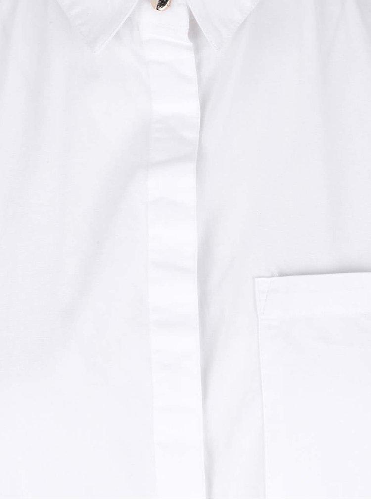 Cămașă albă Dorothy Perkins din bumbac
