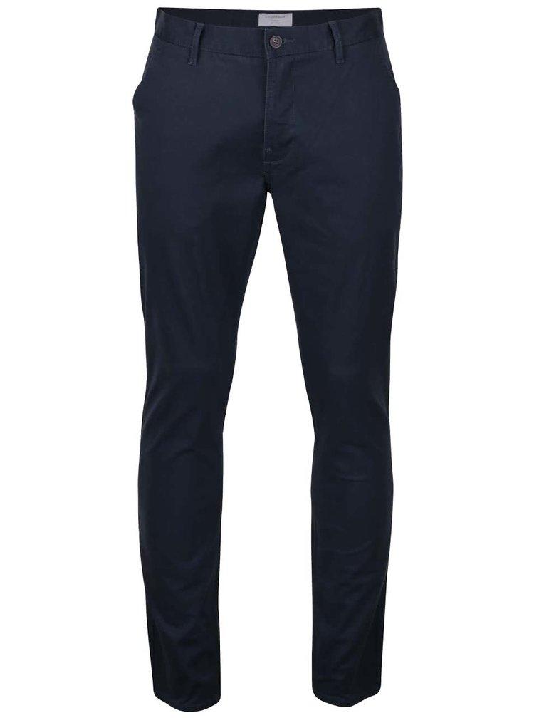 Tmavě modré chino kalhoty Lindbergh