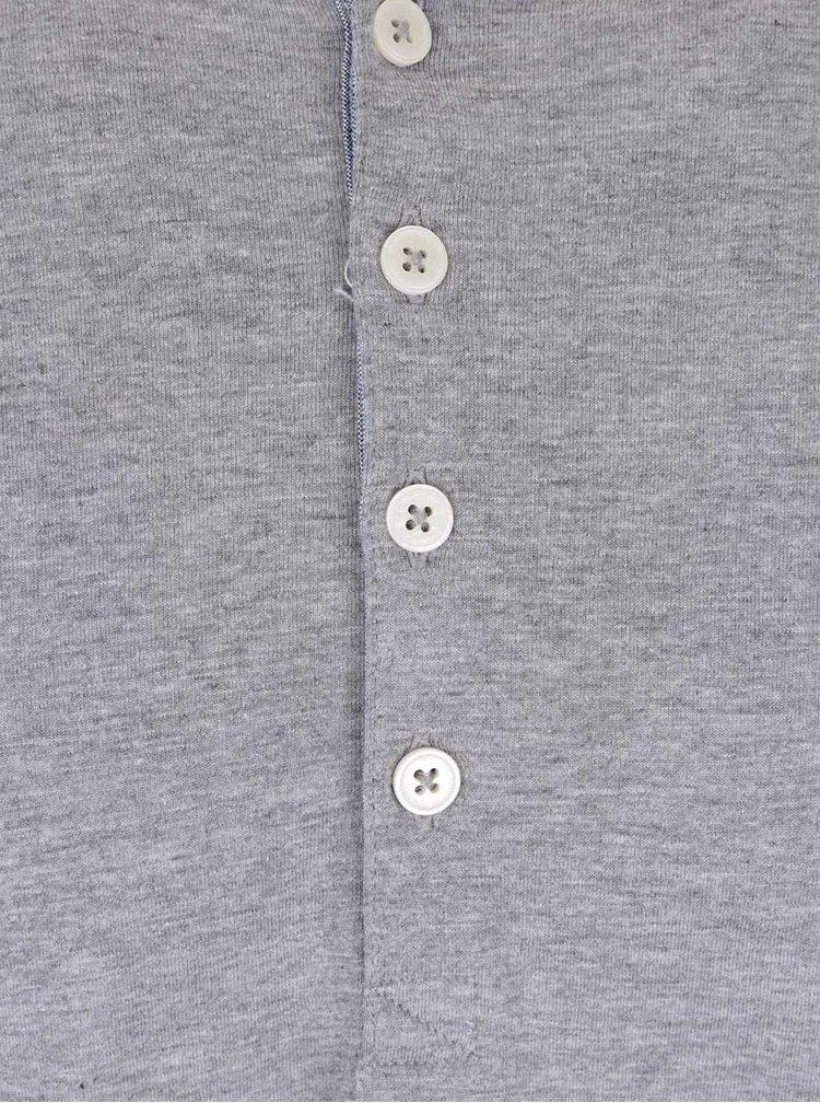 Bluză gri deschis Selected Homme Niklas din bumbac