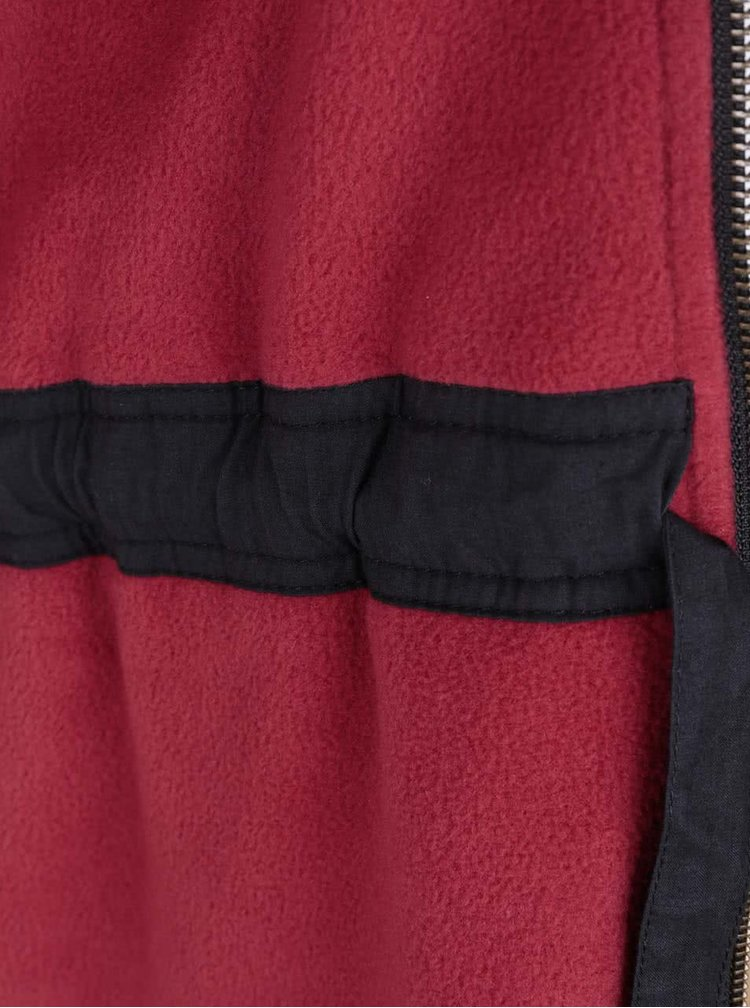 Černá parka s kapucí Tranquillo Ashta