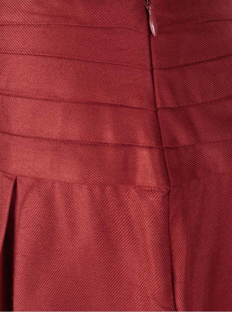 Fustă cloș Tranquillo Lucia roșie