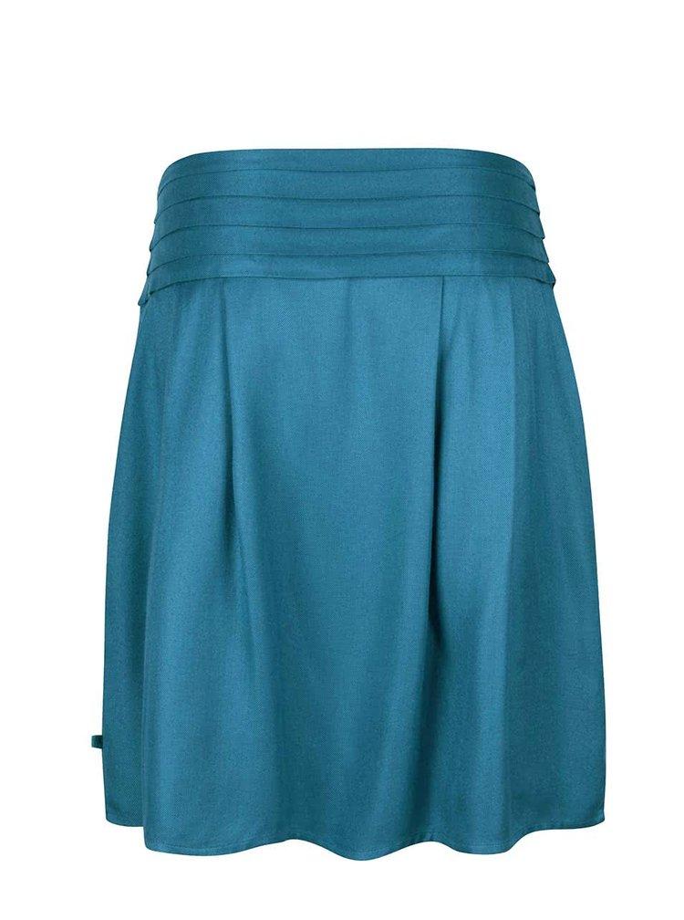 Petrolejová překládaná sukně Tranquillo Lucia