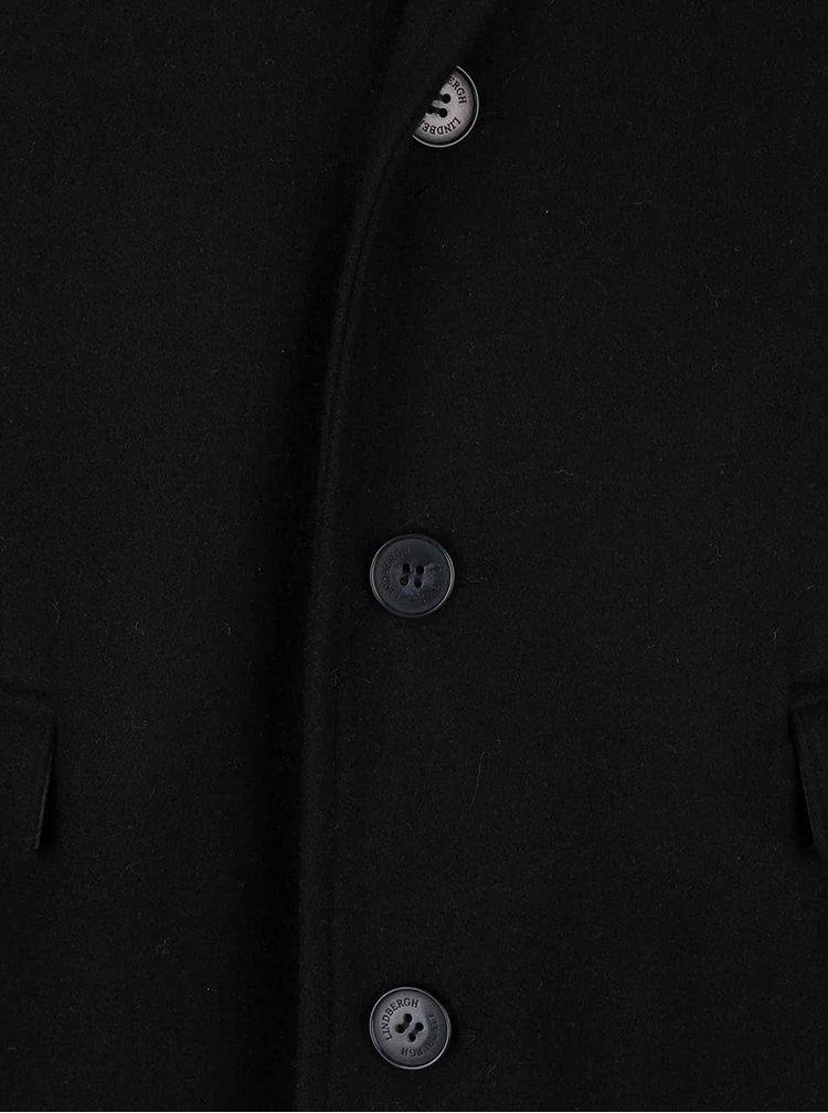 Palton negru Lindbergh