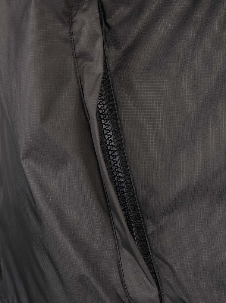 Khaki bunda s kapucňou Shine Original