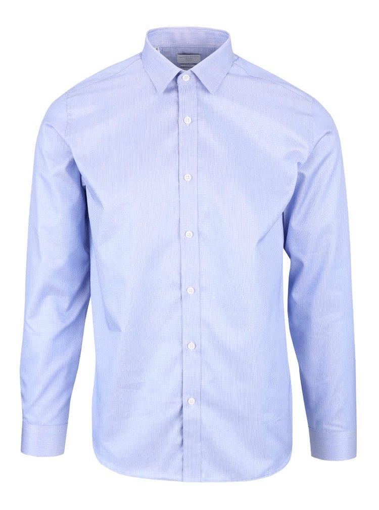 Modrá formální slim fit košile Selected Homme Pelle Santiago