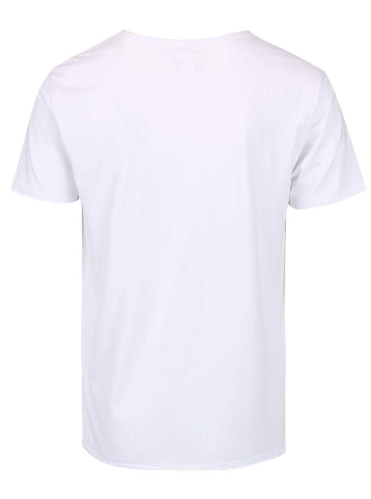 Tricou alb Shine Original cu imprimeu