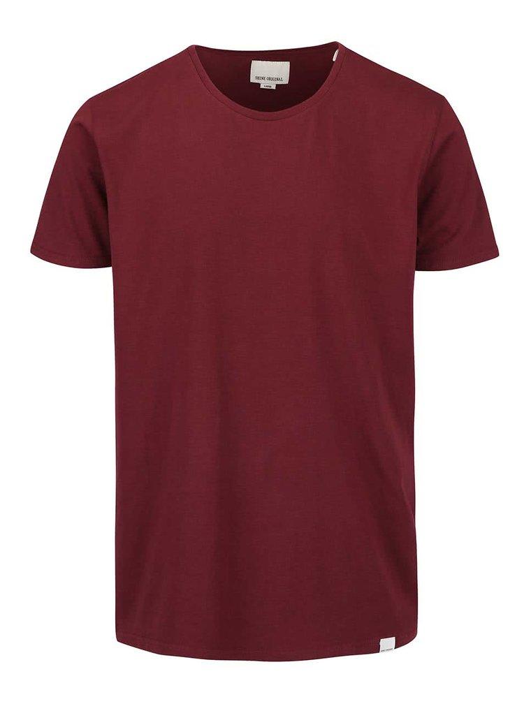 Vínové tričko s okrúhlym výstrihom Shine Original