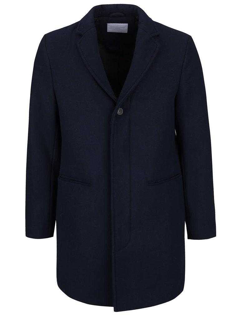 Tmavomodrý kabát Selected Homme Casper