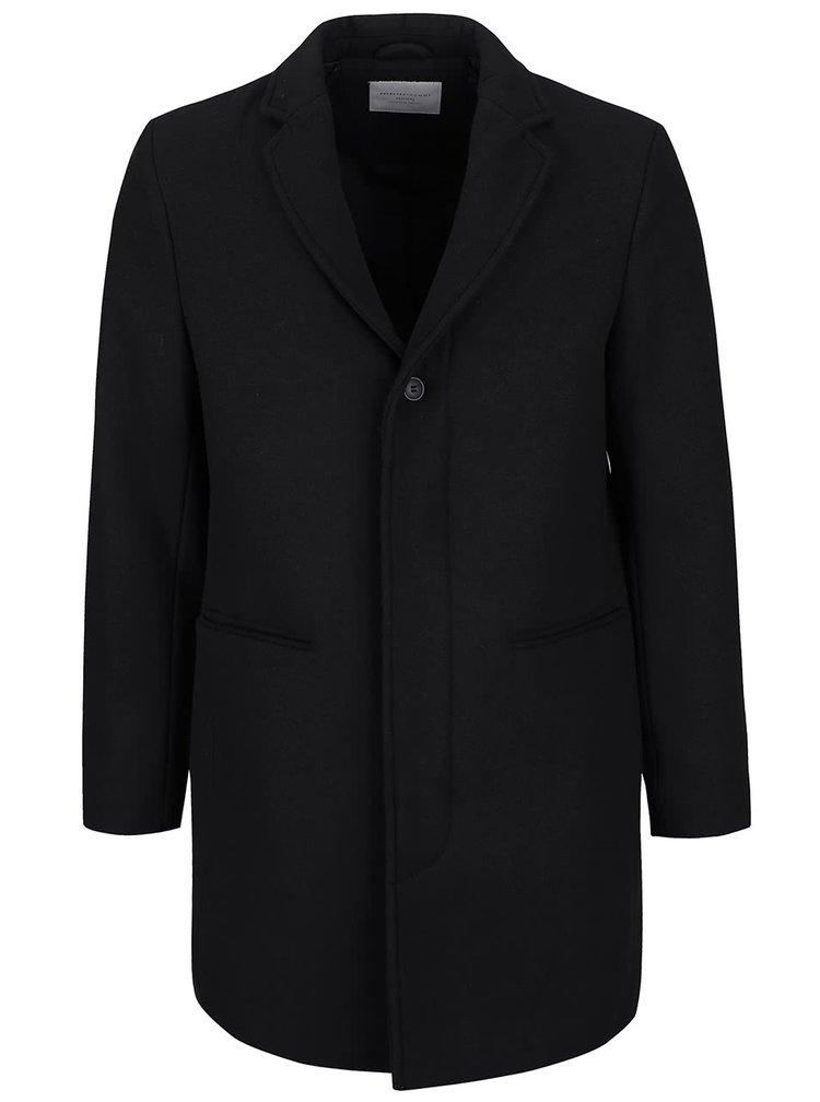 Palton negru Selected Homme Casper