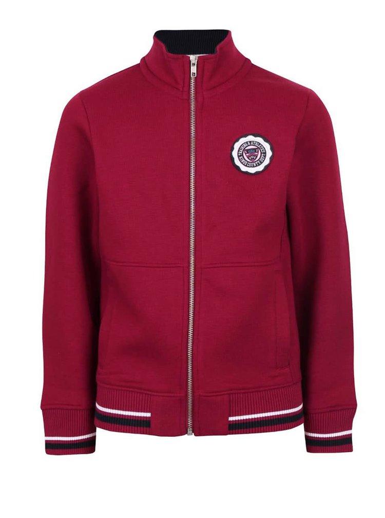Jachetă roșu burgund  5.10.15. pentru băieți