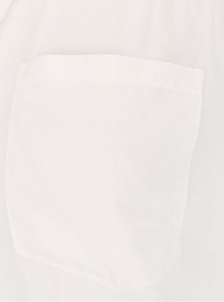Krémová halenka s 3/4 rukávy ONLY Wonder