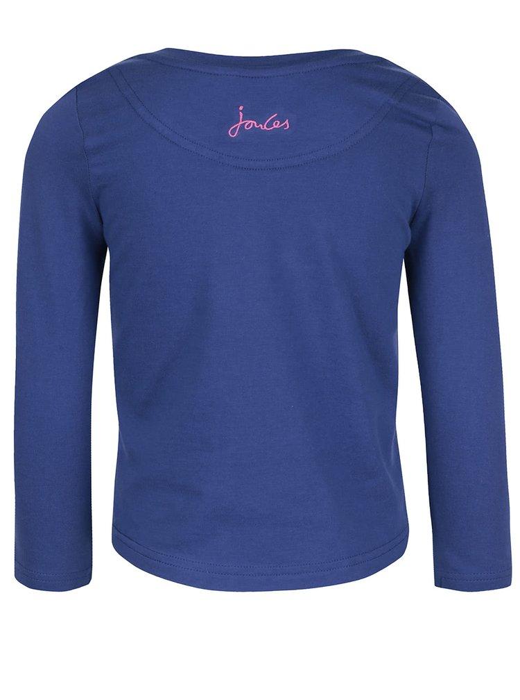Bluză albastră Tom Joule Ava cu inserții