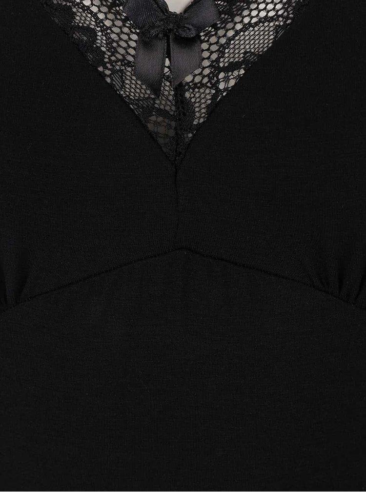Cămașă de noapte Eldar Leonia neagră