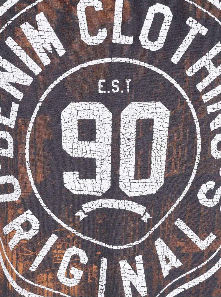 Šedé triko s potiskem Jack & Jones Kola