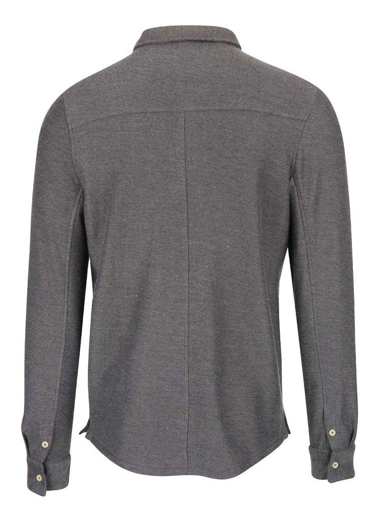 Bluză polo gri închis Selected Homme Ralf