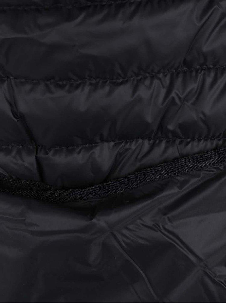 Čierna pánska prešívaná vesta s.Oliver