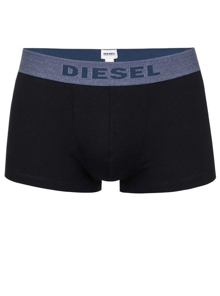 Sada tří boxerek ve světle šedé, tmavě šedé a černé barvě Diesel