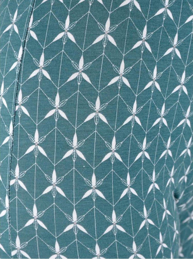 Zelené vzorované legíny Tranquillo Sera