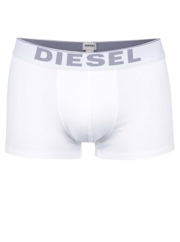 Súprava dvoch boxeriek v bielej farbe Diesel