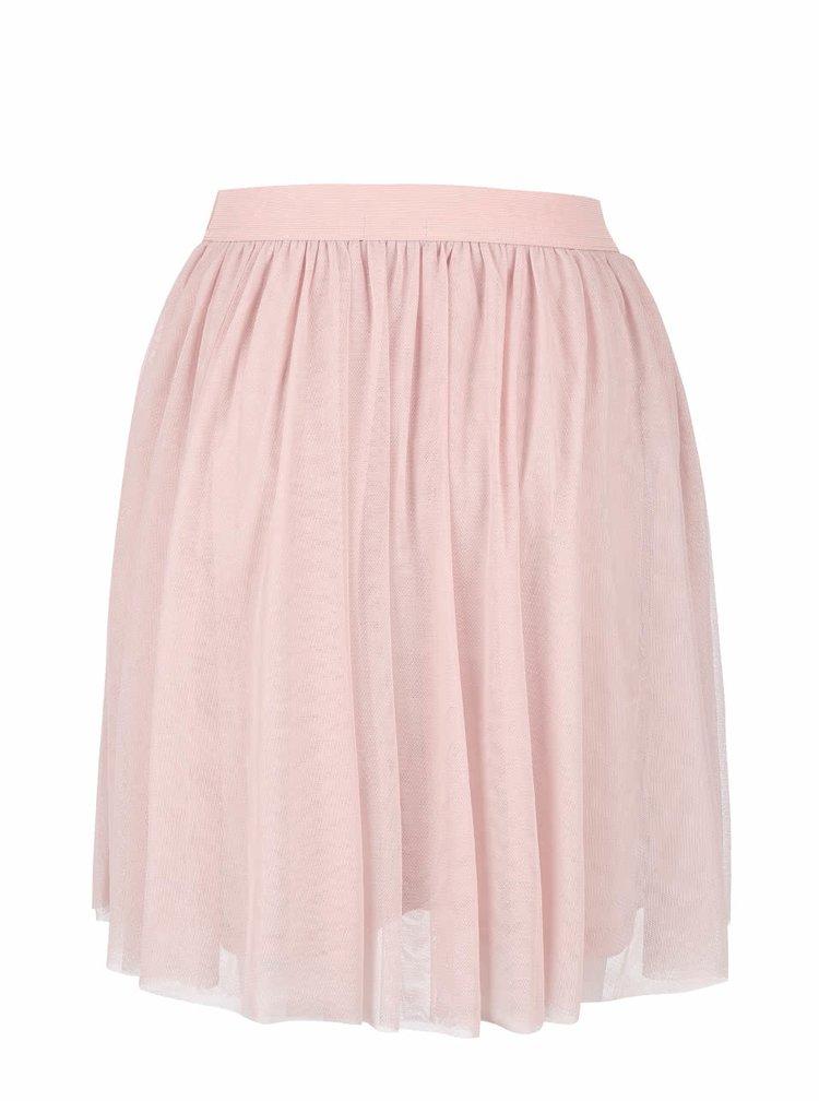 Starorůžová tylová sukně VILA Rokas