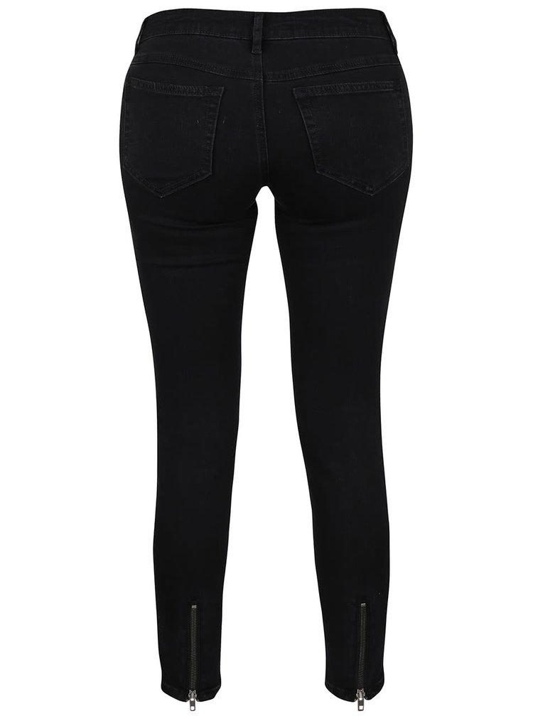 Černé džíny s detaily VILA Commit