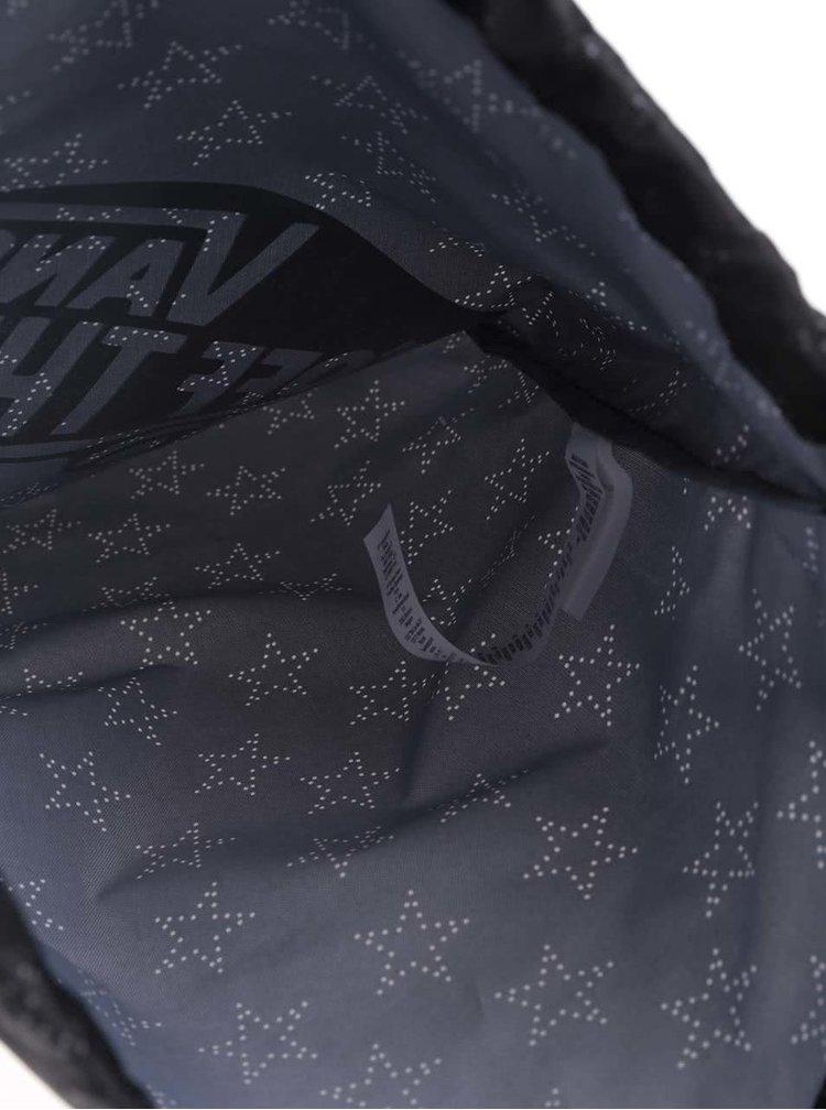 Rucsac negru Vans Star Dot cu imprimeu pentru femei