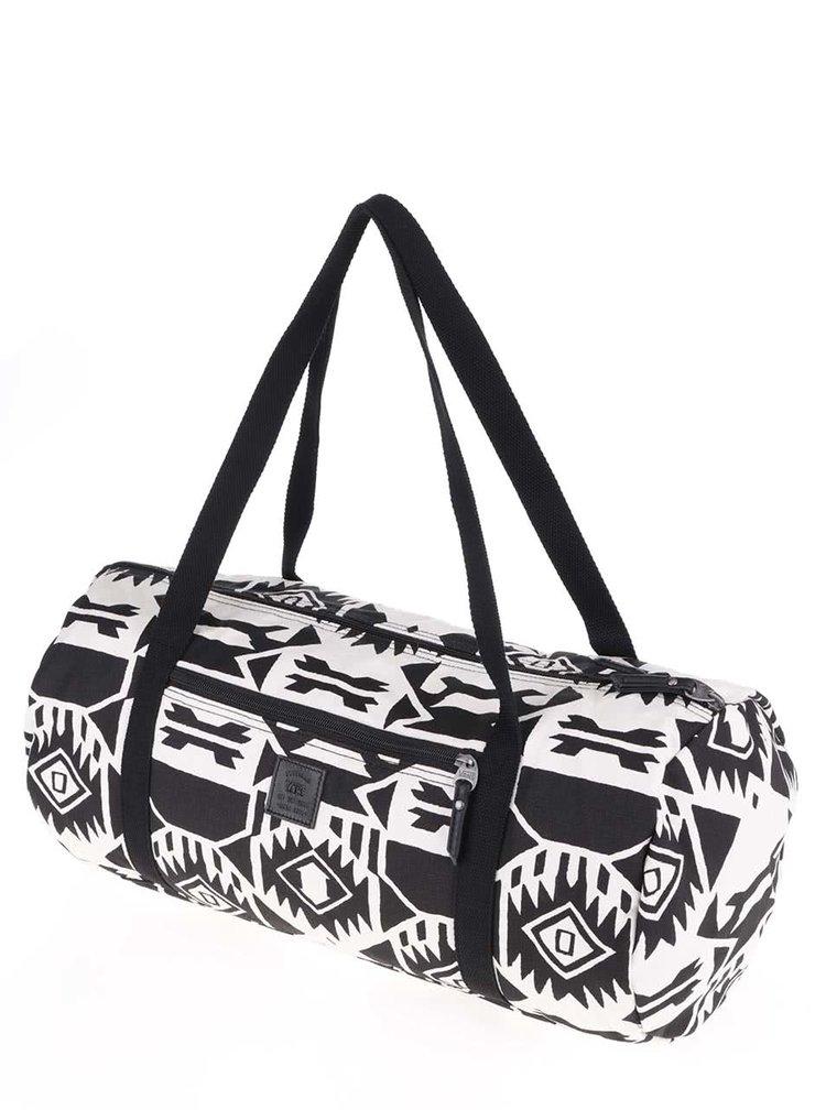 Krémovo-černá dámská vzorovaná taška Vans Amelia