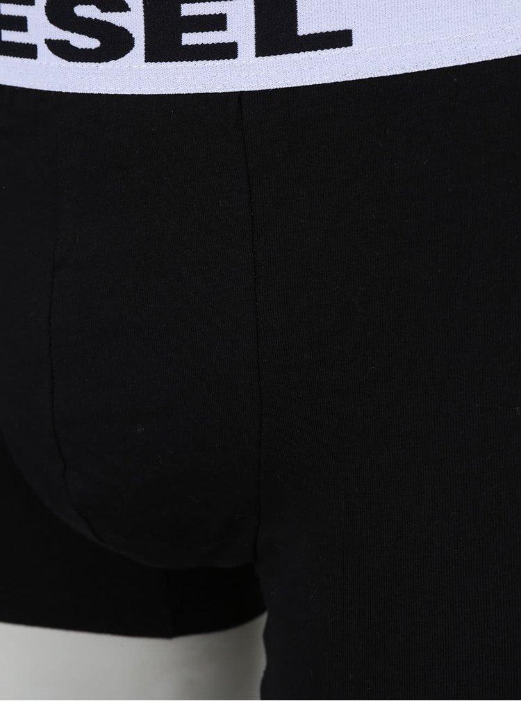 Sada tří boxerek v růžové, černé a šedé barvě Diesel