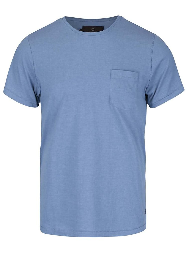 Světle modré pánské triko s kapsou Casual Friday