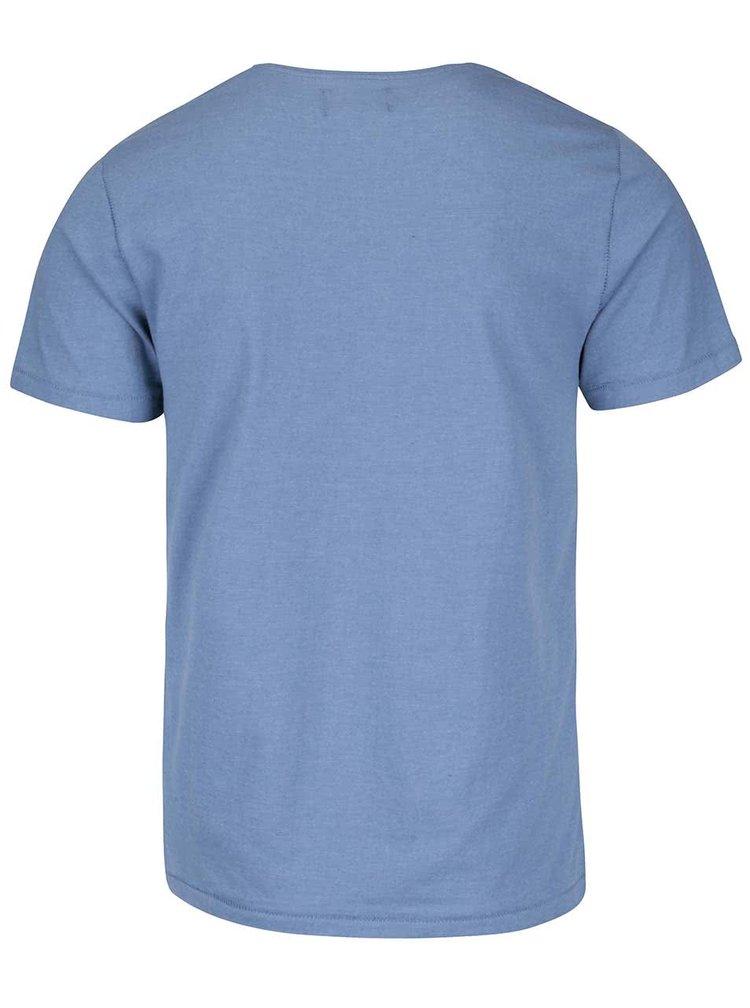 Tricou albastru deschis Casual Friday