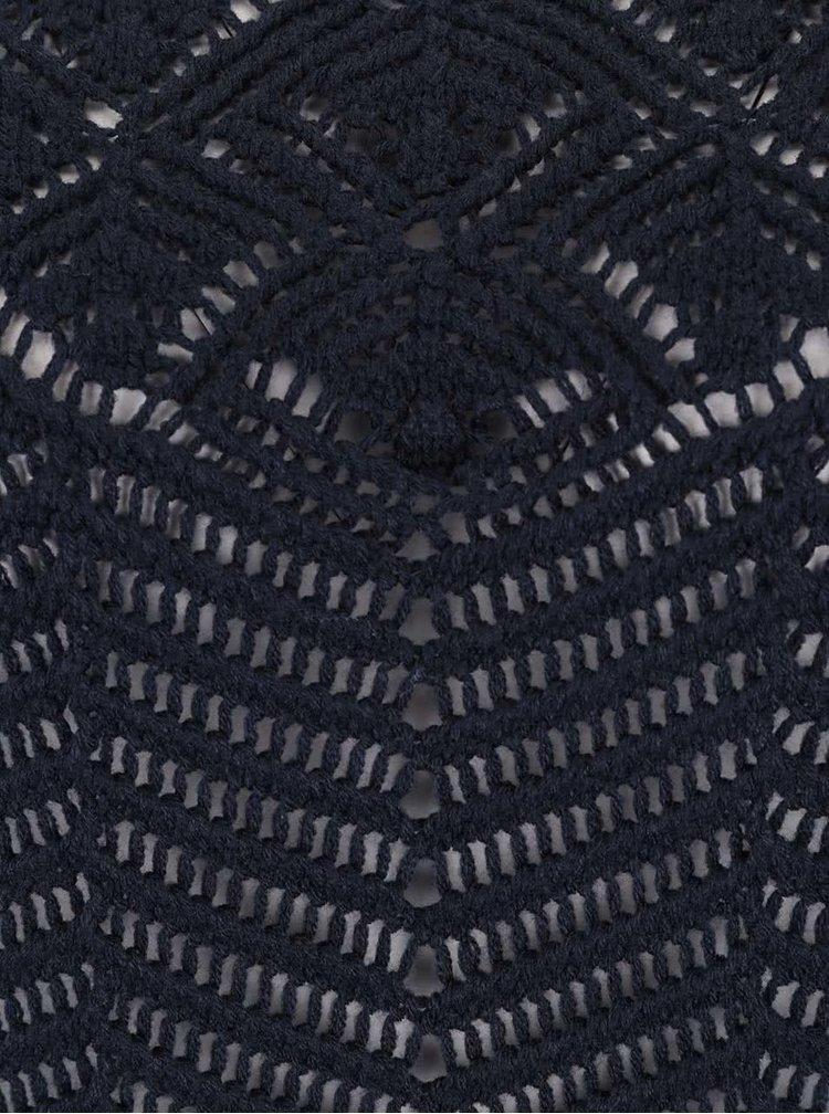 Tmavomodrý sveter VERO MODA Penelope