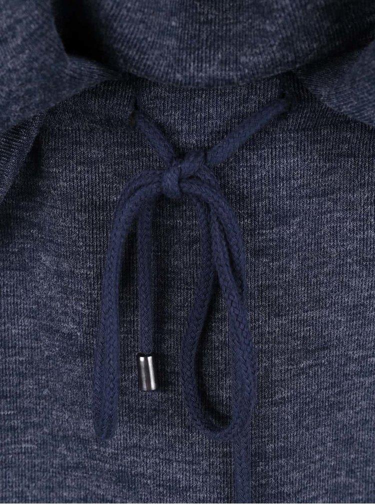 Tmavě modré šaty s dlouhým rukávem VERO MODA Nora
