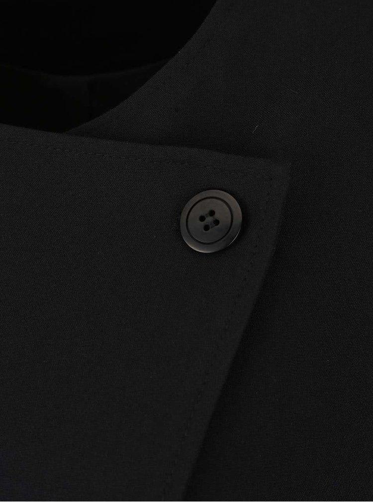 Černý blejzr s mašlí Lavand