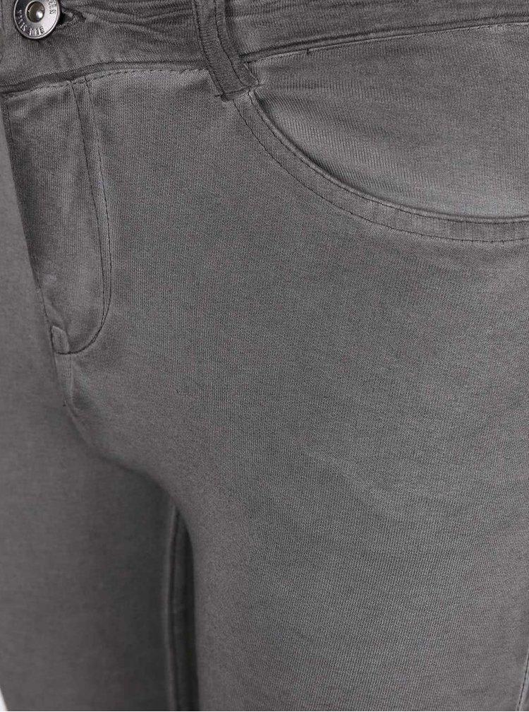 Sivé chlapčenské elastické nohavice Blue Seven