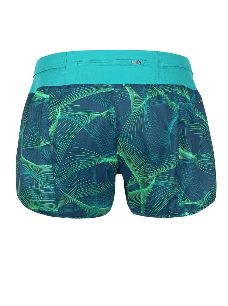 Pantaloni scurti verzi Nike Flex cu imprimeu