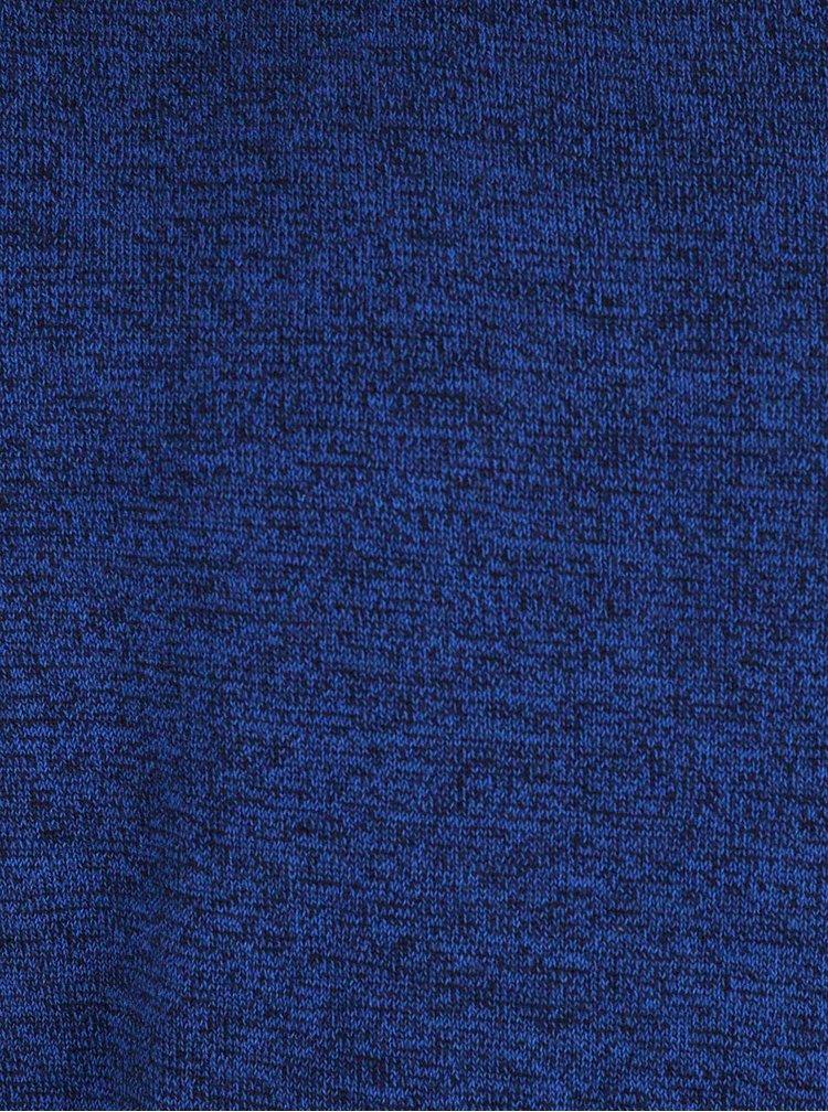 Modrý chlapčenský melírovaný sveter Blue Seven