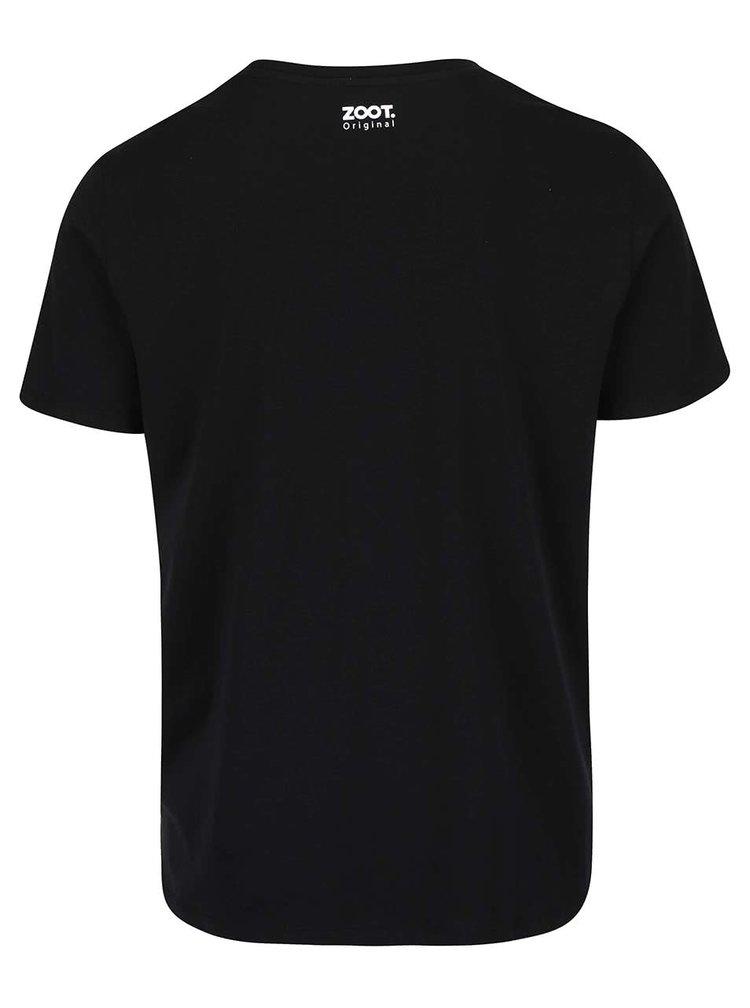 Černé pánské triko ZOOT Originál Gin