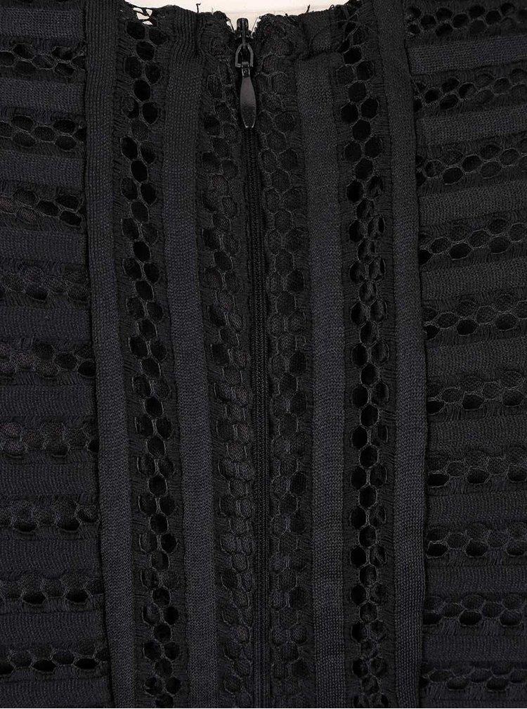 Rochie neagra AX Paris din dantela